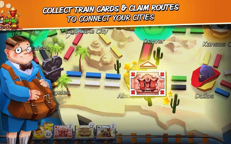 Ticket to Ride: First Journey screenshot 4