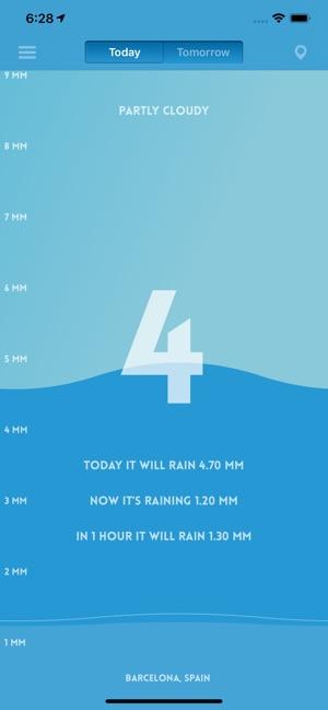 Pluviometer - Rain gauge Screenshot
