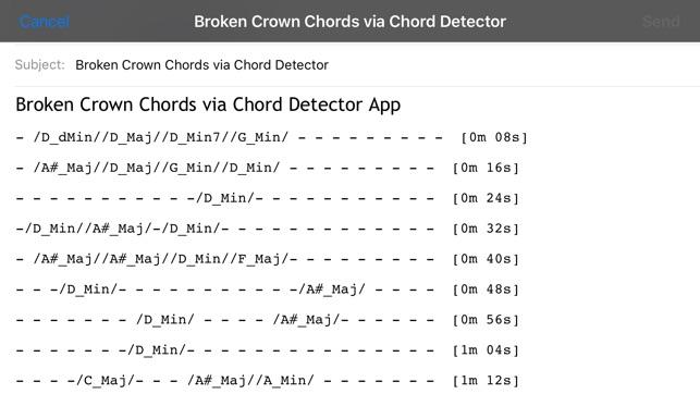Chord Detector - Guitar, Ukulele, Banjo on the App Store