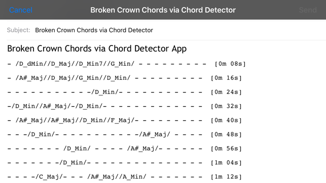 Chord Detector - Guitar, Ukulele, Banjo on the App Store