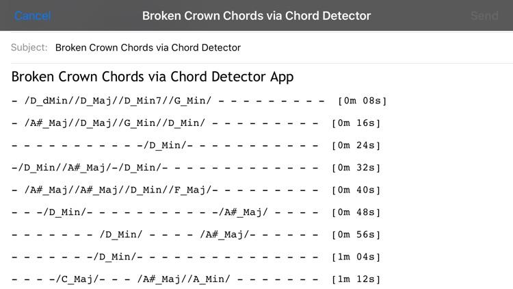Chord Detector - Guitar, Ukulele, Banjo screenshot-4