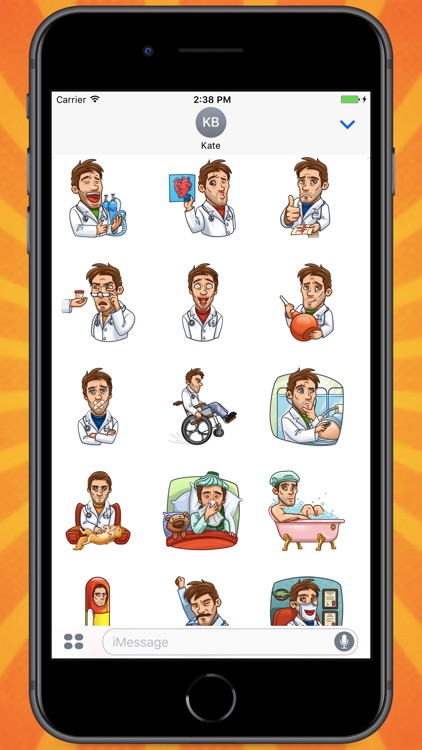 Mr.Doctor Stickers