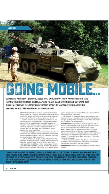 Airsoft Action - the airsoft magazine screenshot-3