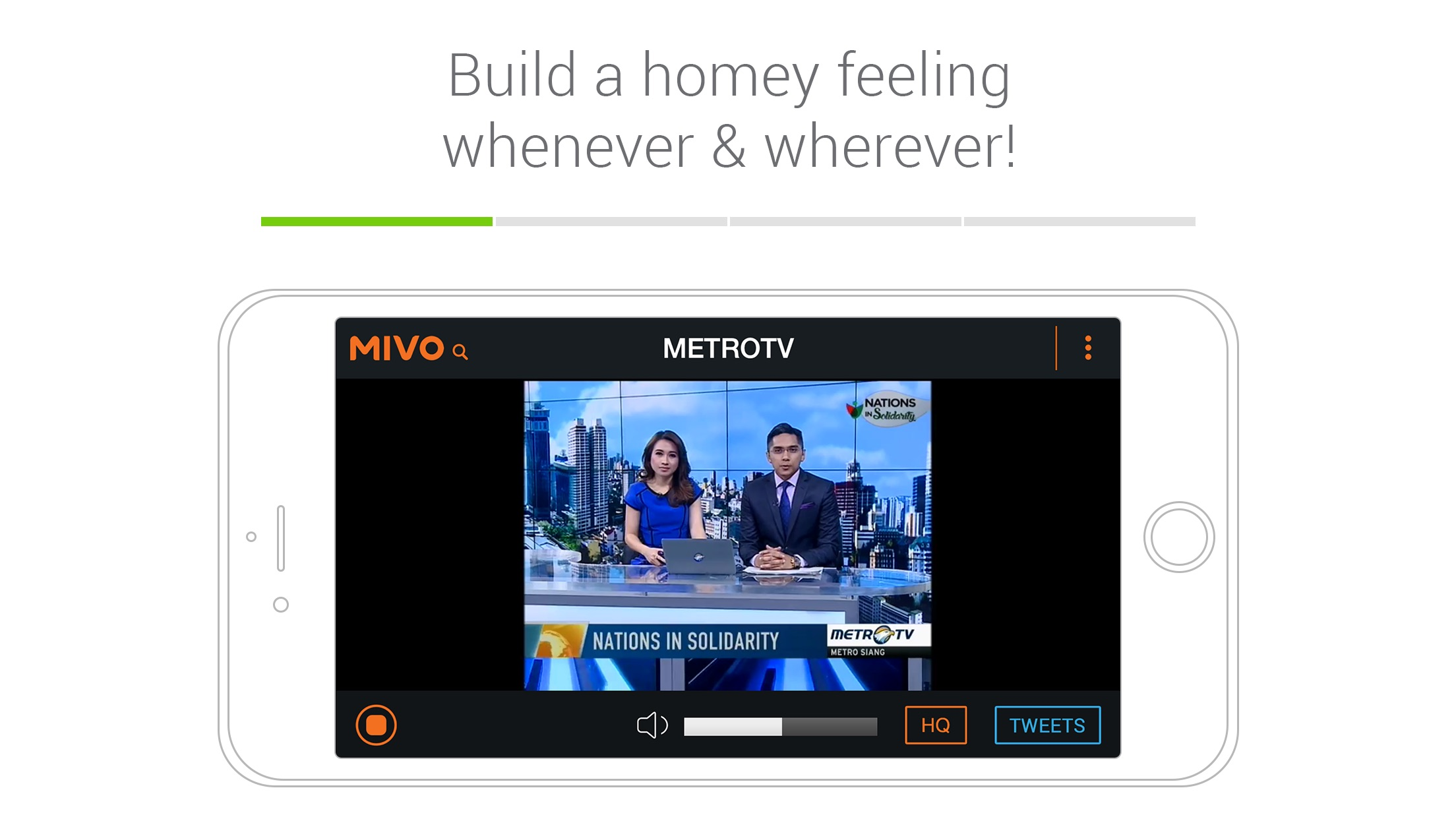 Mivo - Watch TV & Celebrities Screenshot