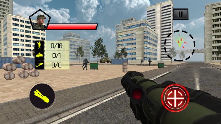 Commando Counter Attack War 3D screenshot-3