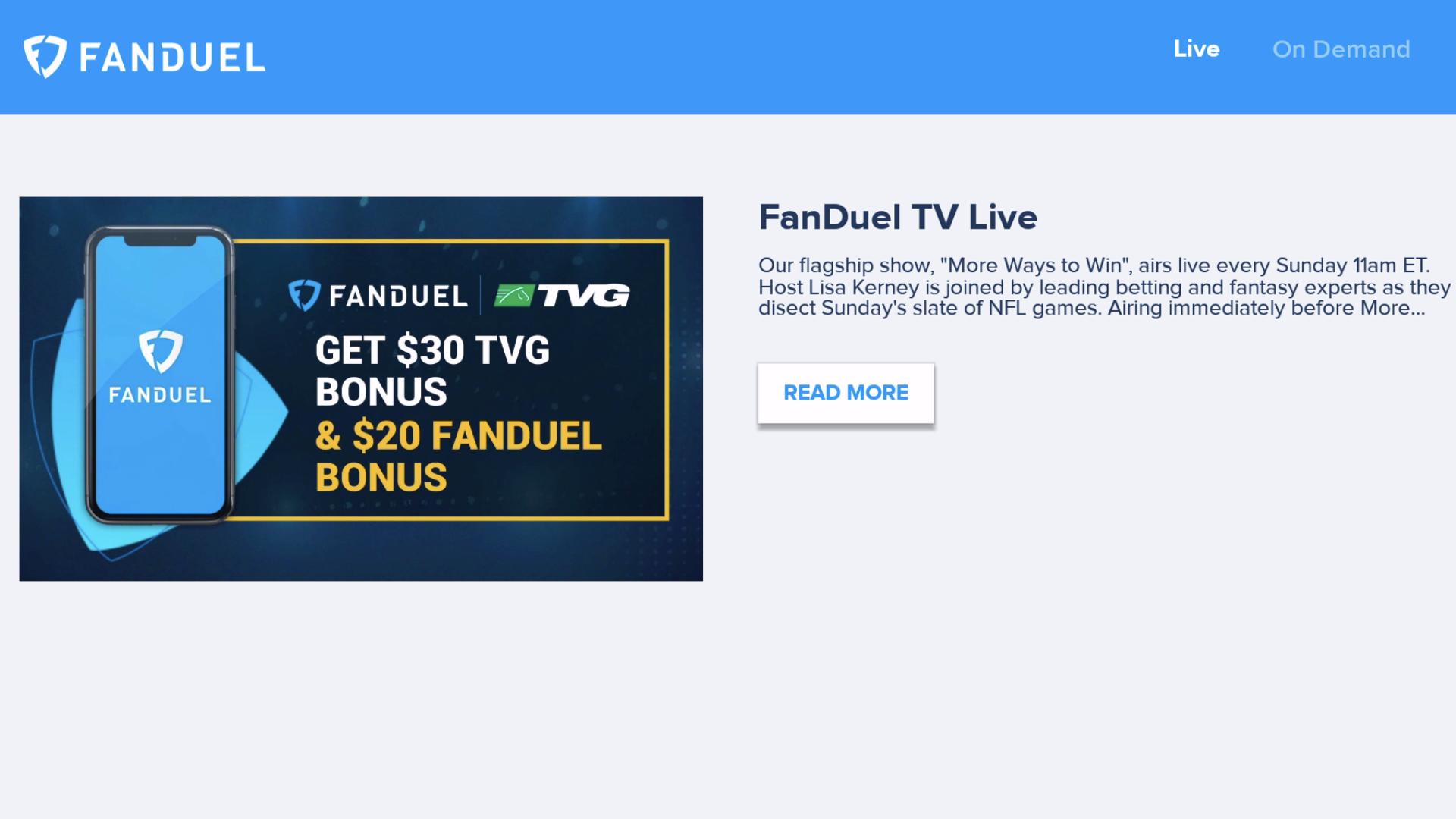 FanDuel TV screenshot 3