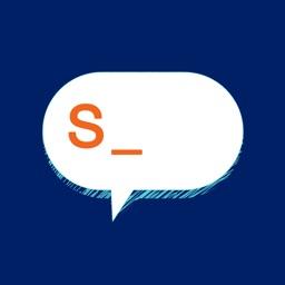Speech bubbles-Custom stickers