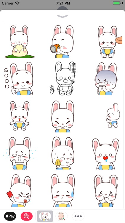 Little Bunny Stickers Pack