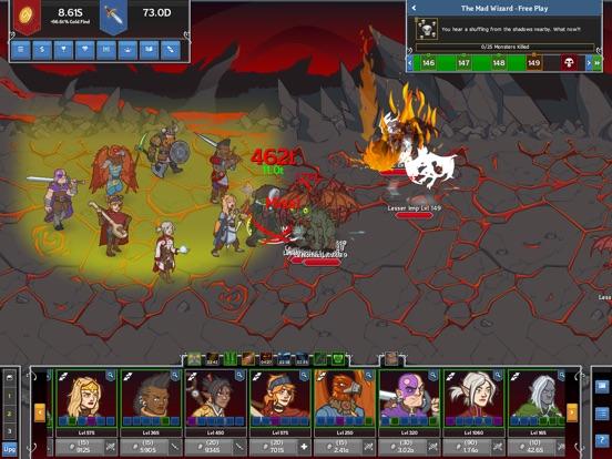 Screenshot 1 Idle Champions