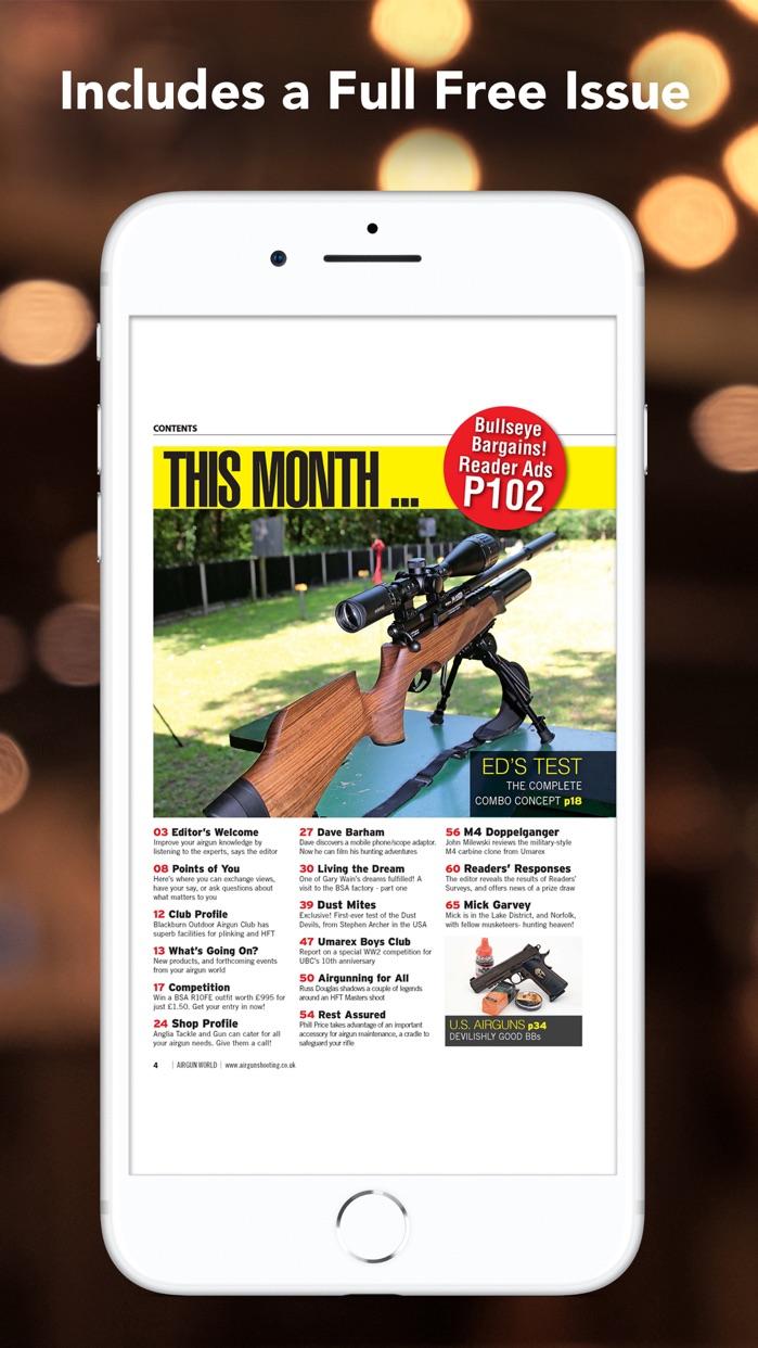 Airgun World Magazine Screenshot