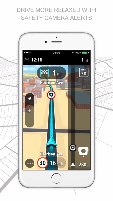 TomTom GO Mobile Screenshots