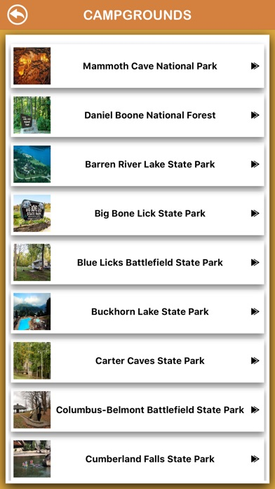 Screenshot for Kentucky National Parks in Romania App Store