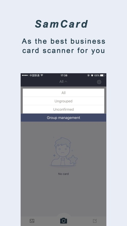 Business card scaner--Sam Full