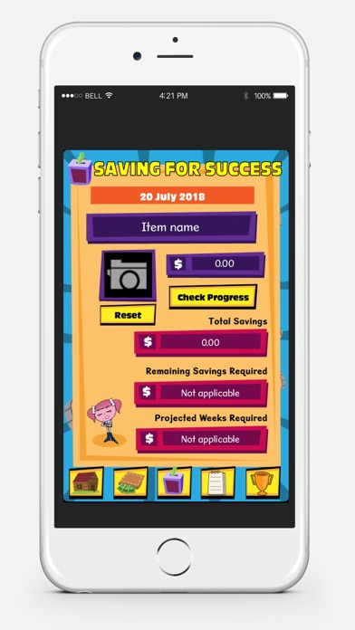 Cha-Ching Pocket Money Manager screenshot three