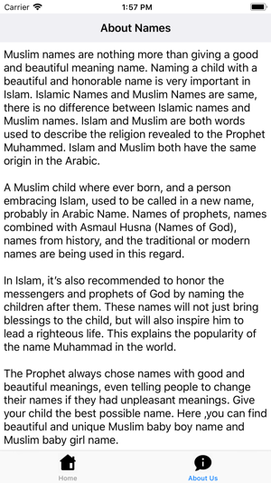 Arabs Names on the App Store