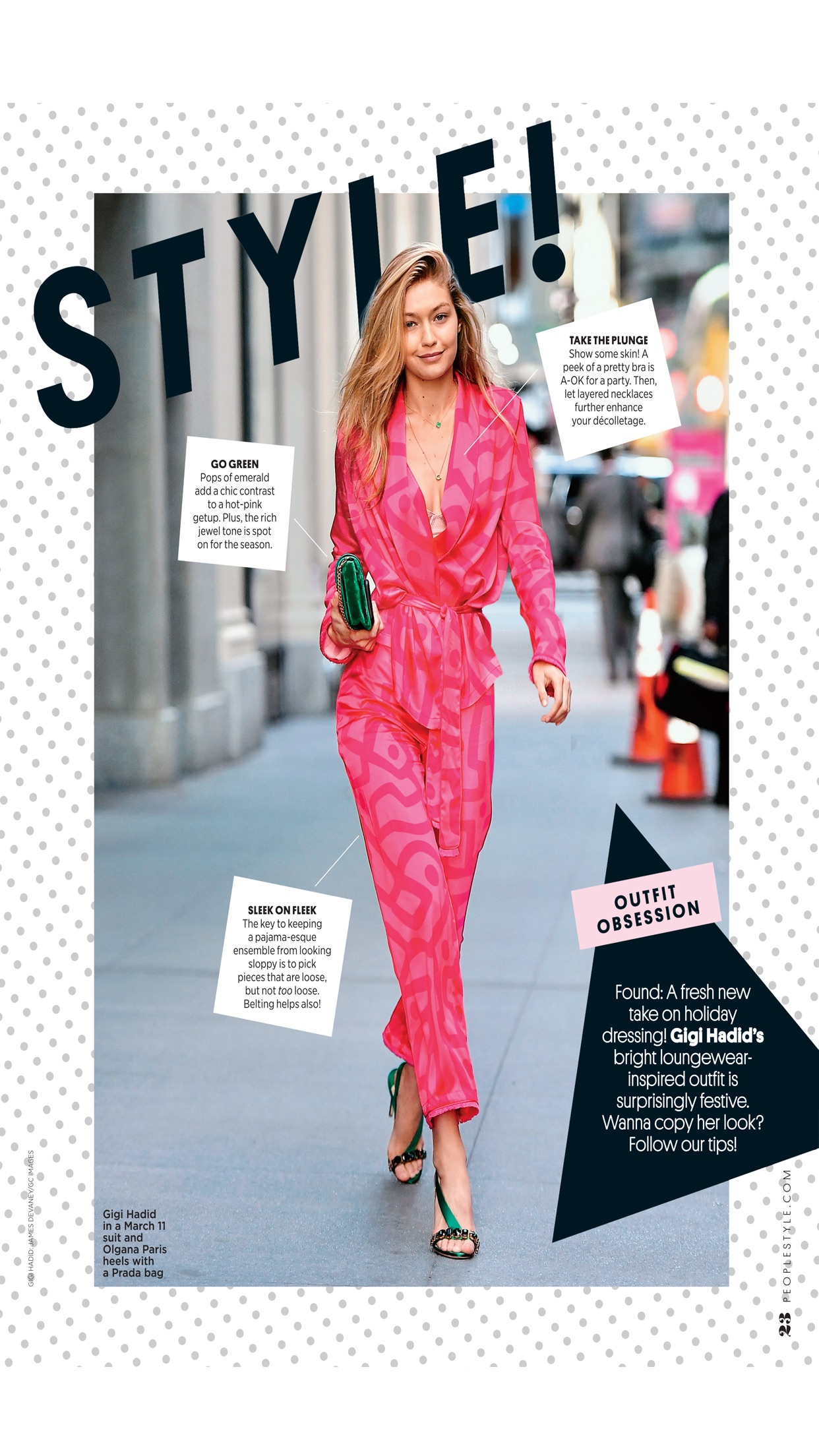 PEOPLESTYLE Magazine Screenshot