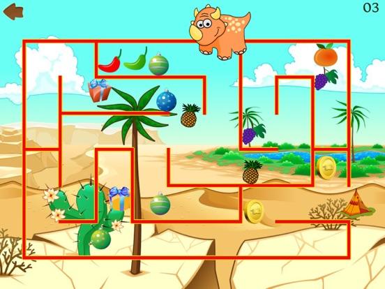 Dino Maze: kids learning games для iPad