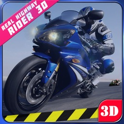Real Highway Traffic Rider