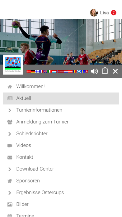 Handball Berlin Ostercup screenshot 2
