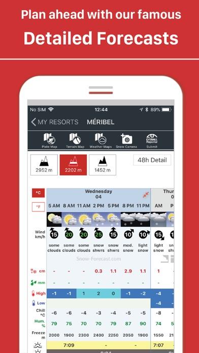 Snow Forecastcom review screenshots