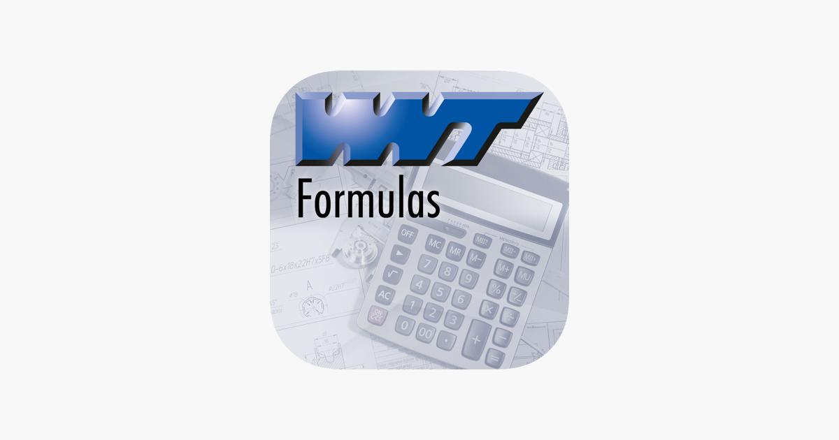 WNT Formulas im App Store 347528762d