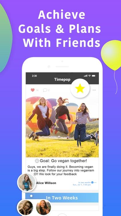 Timepop - Future Goals & Plans screenshot-3