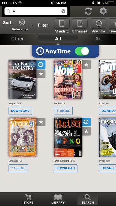Readr - 10K Magazine Newsstand screenshot 3