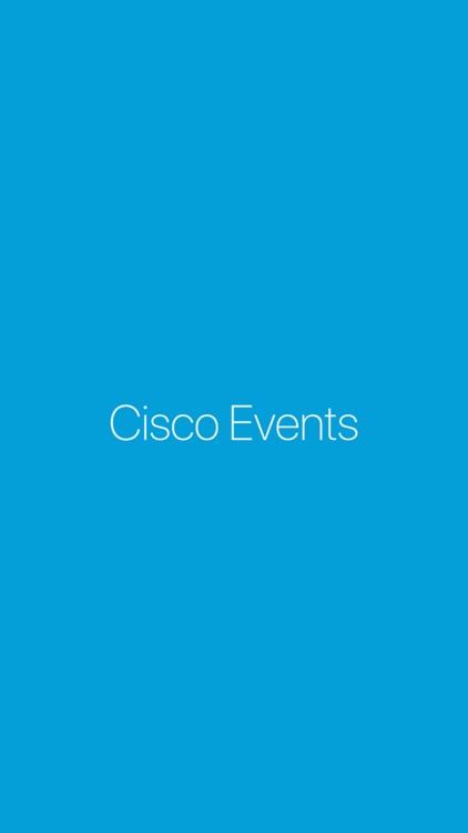 Cisco Events App