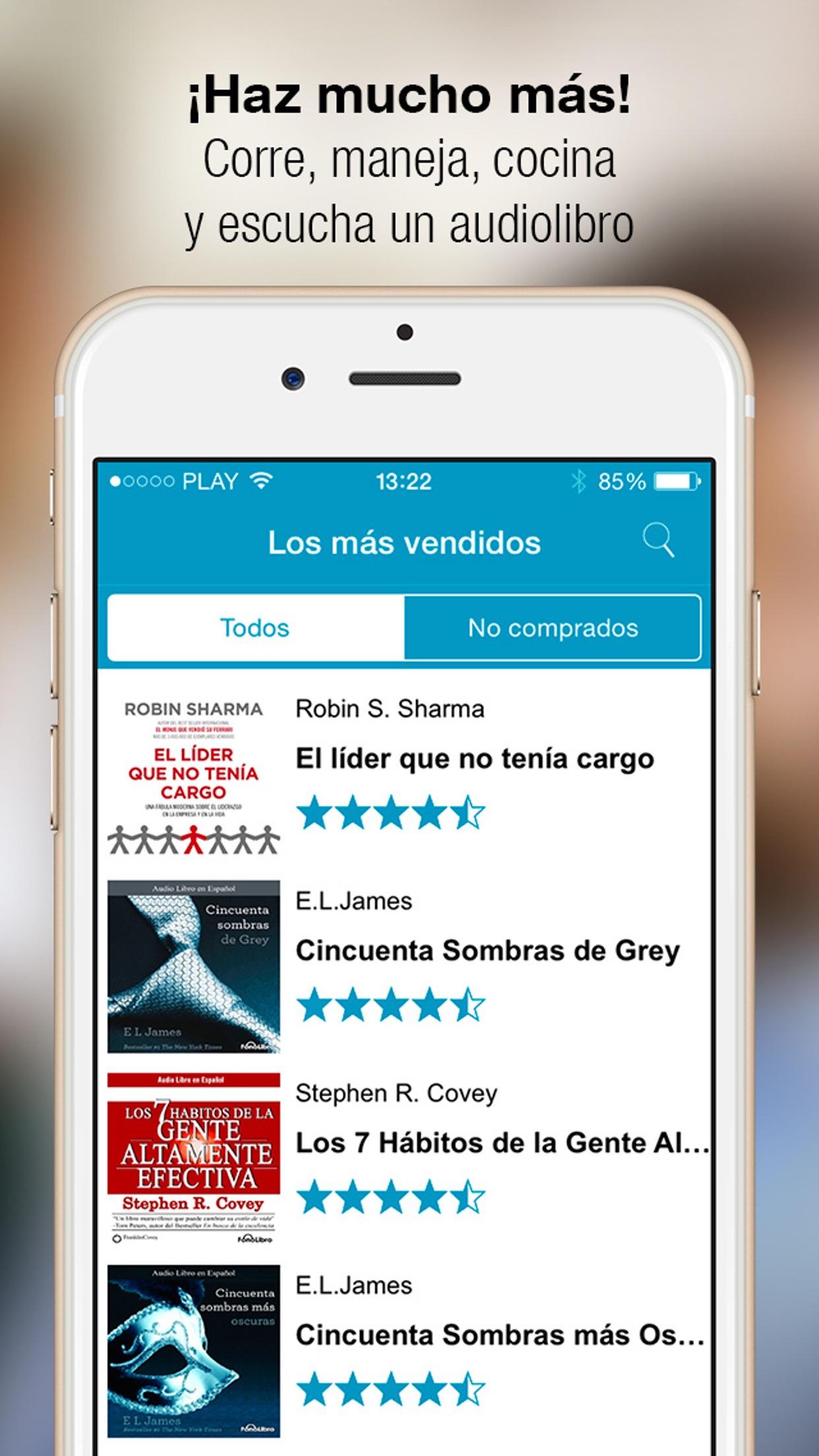 Audioteka - audiolibros Screenshot