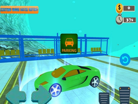 Driving Car UnderWarter 19 screenshot #2