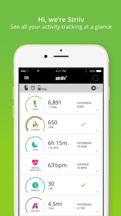 Striiv Activity Tracker