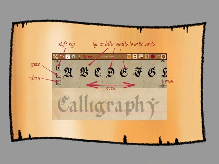 Calligraphy Handbook screenshot-4