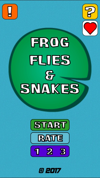 Frog Flies and Snakes