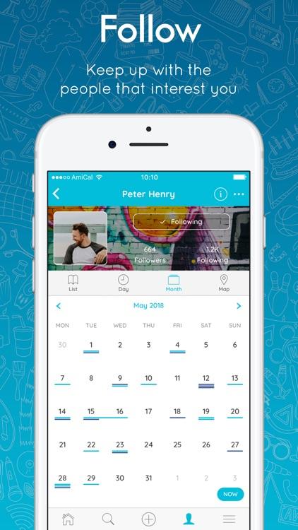 AmiCal - Social Calendar screenshot-3
