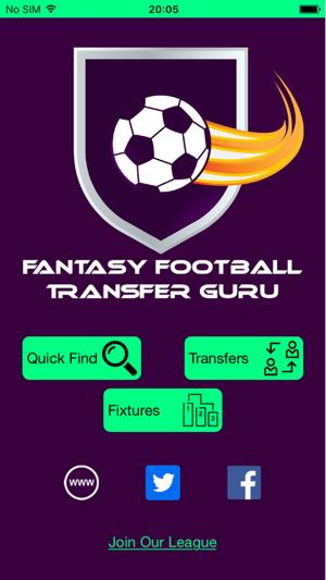 Fantasy Football Transfer Guru on the App Store