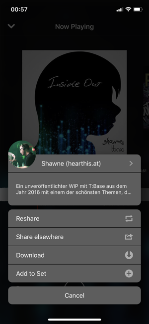 ‎hearthis.at Screenshot