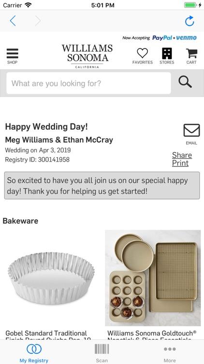 Williams Sonoma Wedding Registry.Williams Sonoma Gift Registry By Williams Sonoma Inc