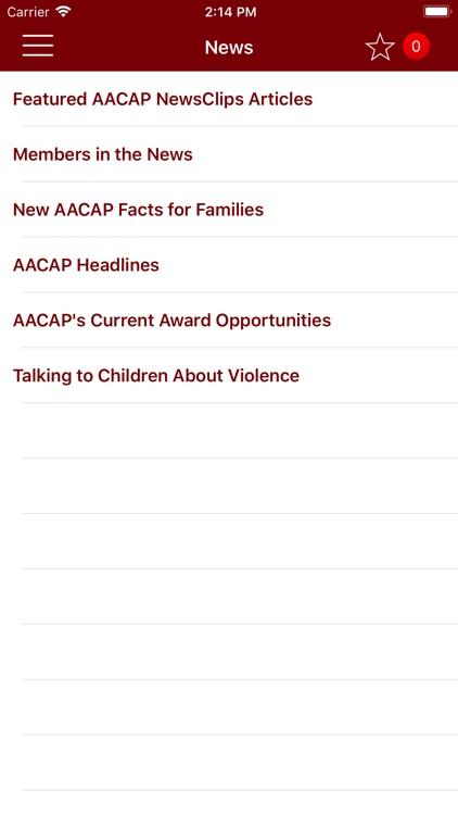 AACAP screenshot-4