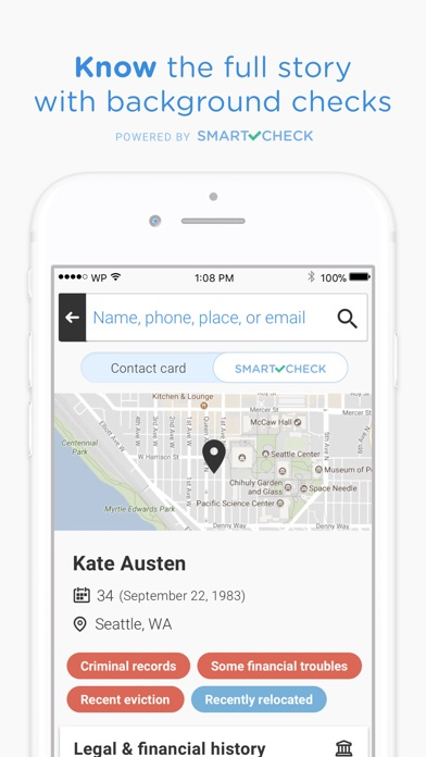 Whitepages People Search iPhone