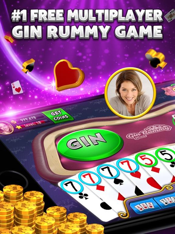 Gin Rummy Plus - Card Game на iPad