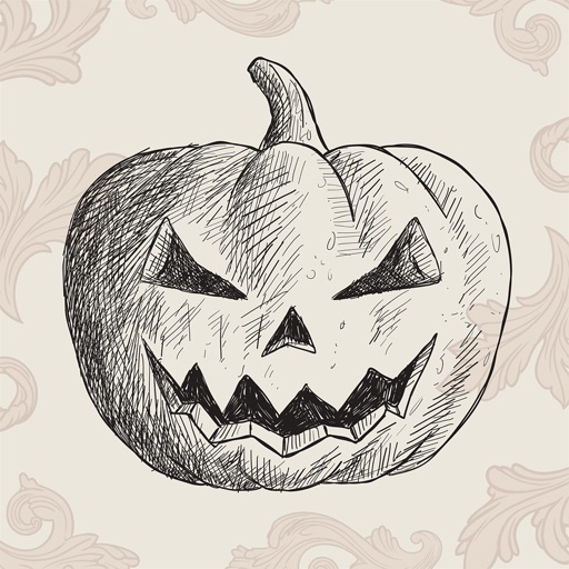 Halloween Sketch Elements icon