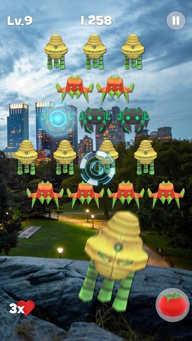 Space Alien Invaders ARのおすすめ画像3