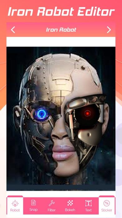 Iron Robot Editor screenshot one