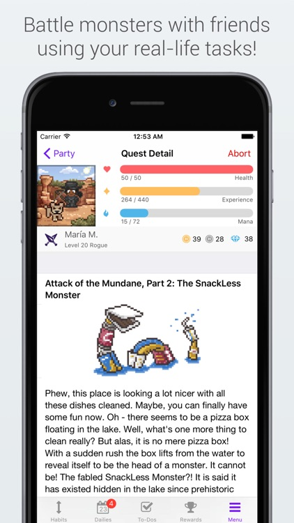 Habitica: Gamified Taskmanager screenshot-4