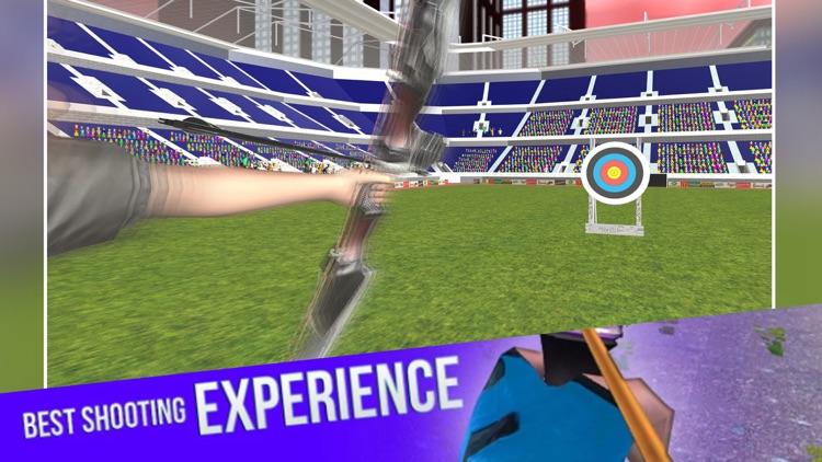 Archery Girl Shooting