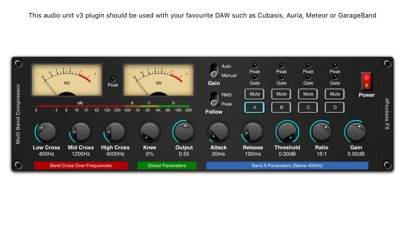 Multi-Band Compressor Plugin screenshot 1