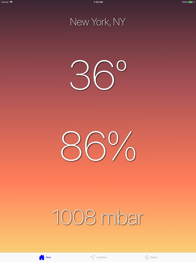 Big Weather Forecast on the App