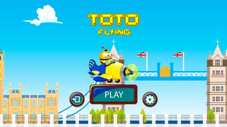 Toto Flying London by Muhammad Rehan Aslam