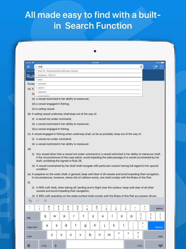 navigation rules pro on the app store