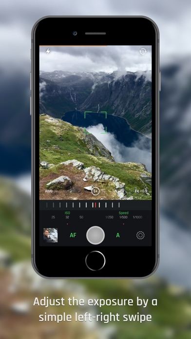 Optika - Manual RAW Camera Screenshots